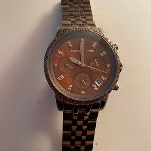 Michael Kors Showstopper Chocolate watch
